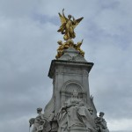 Victoria Memorial outside Buckingham Gates