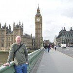 Eric on Westminster Bridge