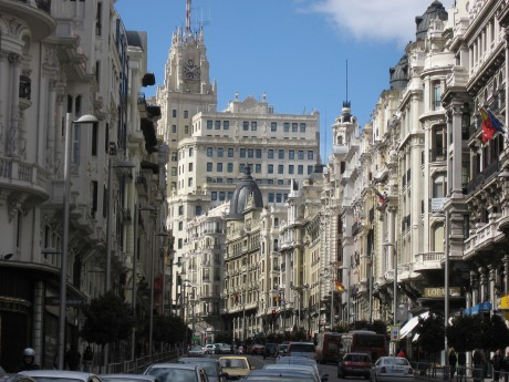 Gran Via - Busiest Street in Madrid