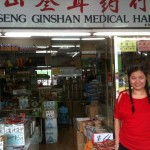 Ruth at a Chinese Medicine Shop