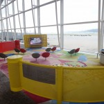 Children's Area in the Terminal (Tom and Jerry on TV)