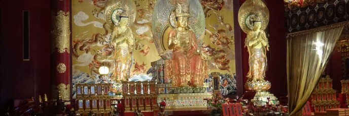 "The ""main"" buddah in the temple"
