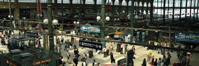 Gare du Nord Station Paris