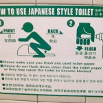 Japanese Squatter Instructions