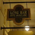 Long Bar at Raffles Sign