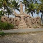Sentosa Sign at Palawan