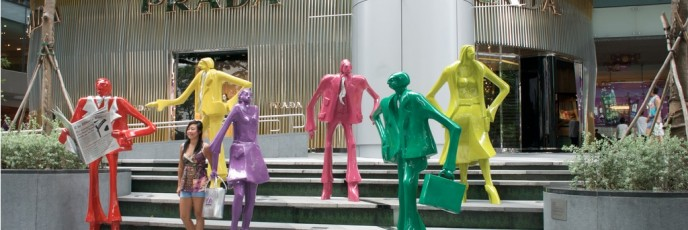 Prada Sculptures - Orchard Road