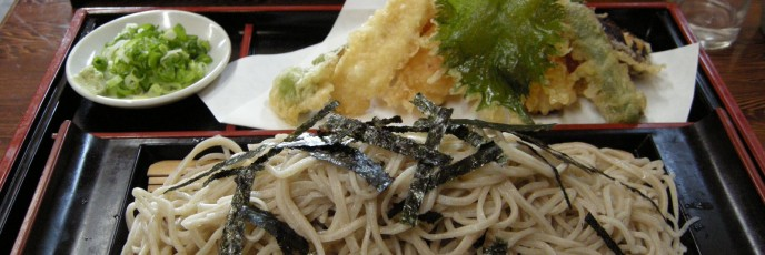 Soba Noodles with Tempura
