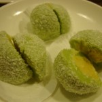 Sweet Coconut Ball with Lotus Filling