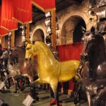 Replicas of the Kings Horses