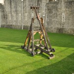 Trebuchet protecting the Tower